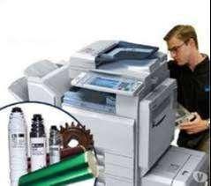 Equipo de soporte tecnico para fotocopiadoras y multifuncionales