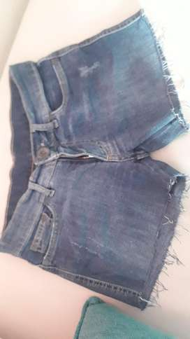 Short Jeans Talle 26 Xs