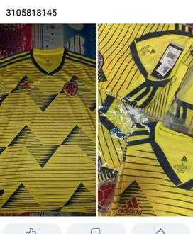 Vendo Camisetas Seleccion Colombia
