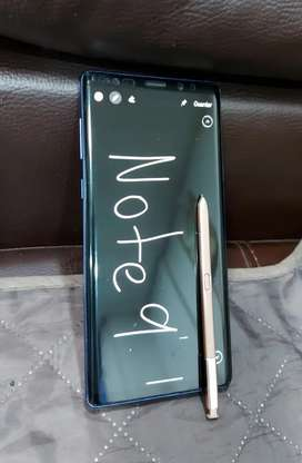 Vendo Note 9 de Samsung