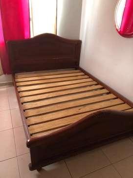 Venta de cama boble con colchón
