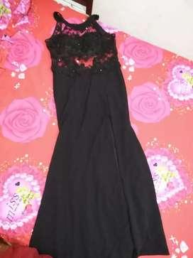 Hermoso vestido largo de gala