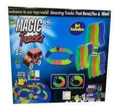 Pista De Carros Flexible Magic Tracks Car 128 Piezas