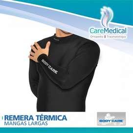 Camiseta Remera Termica Hombre Manga Larga BODY CARE Ortopedia Care Medical