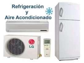 Refrigeración, y Reparación de lavarropas