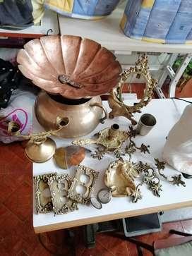 Antigüedades en cobre y bronce
