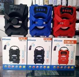 Hermosos parlantes bluetooth amplificador portable