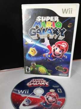 Original súper Mario galaxy wii