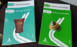 Libros 2do SEC Santillana pack Sociales y CTA NUEVOS