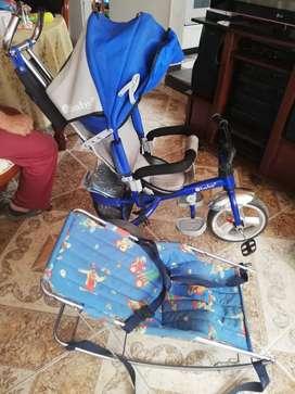 Triciclo azul en soacha compartir economico
