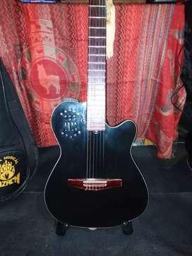 Parante pedestal  para guitarra soundking Tipo V Lima callao