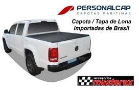 Capota / Tapa de Lona enrollable para camionetas marca Personal Cap importadas de Brasil