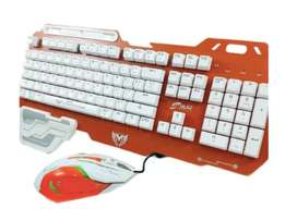 Combo Gamer Teclado y Mouse CTMGJR-011