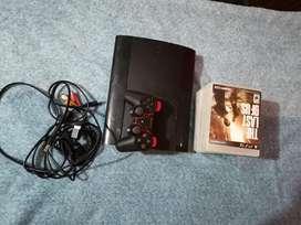 PS3 super slim 8 juegos