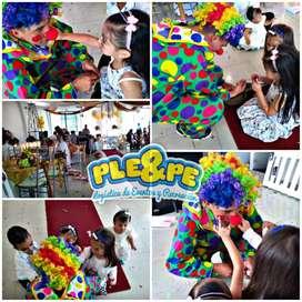 Animación, fiestas infantiles, recreadores, decoración, baby shower, cumpleaños, títeres, magia, payasos, personajes