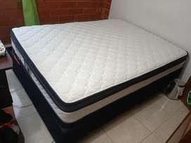 Colchon ortopedico + Base cama