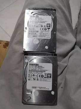Discos 500 gb toshiba