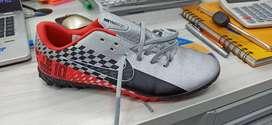 Guayos Nike Vapor 13 gris y rojo muy bonitos