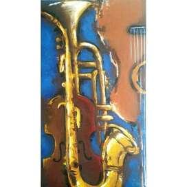 Pintura Acrílico Sobre Lienzo.70x40cm