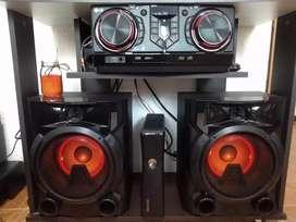 Equipo Sonido LG CJ65 900w - Impecable
