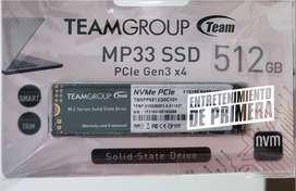 SSD TeamGroup M.2 Nvme MP33 PCIe Gen 3 512GB