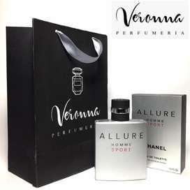 Perfume Allure Homme Sport Chanel Hombre Importado 100 Ml Veronna