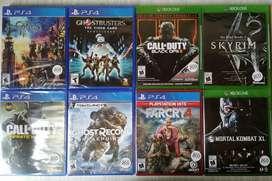 Venta de vídeo juegos físicos para consolas Ps4 y Xbox One