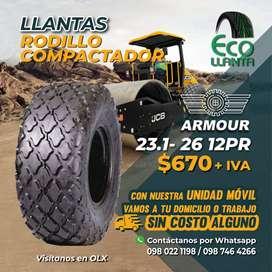 LLANTAS PARA RODILLO COMPACTADOR 23.1- 26 12PR