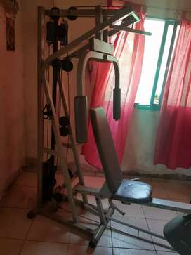 PERMUTO MULTIGYM ATHLETIC IMPECABLE