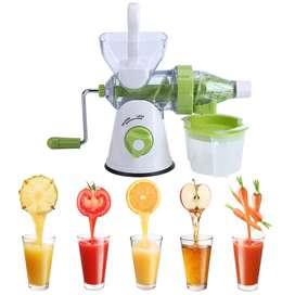 Extractor de jugos manual para frutas y verduras multifuncional