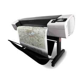 "Impresora HP DESIGNJET T790 44"" Reacondicionada + 90 días de garantía -WIDEIMAGEPRINTERS"