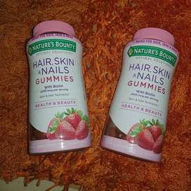 Gomitas Hair, Skin & Nails Nature's Bounty