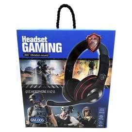 Diadema Auricular Gamer Gaming Headset Gm-005 Ps4 Xbox One