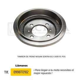 TAMBOR DE FRENO NISSAN SENTRA B13 1600