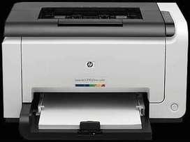 Impresora Hp Laser Jet Pro Cp1025nw Color