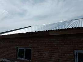 Colocacion de techos casa y galpon