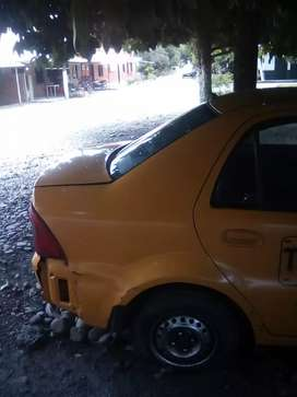 Se vende taxi Geely solo.para respuestos.