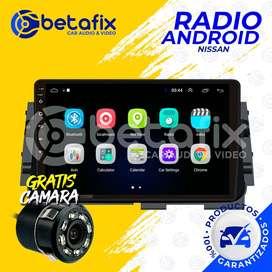 RADIO ANDROID NISSAN KICKS 2018-UP GPS BT USB WIFI BETAFIX