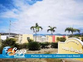 TERRENOS PLAYEROS, Escrituras Inmediatas, ULTIMOS LOTES, Lotizacion Cayo Baech, Puerto Cayo, SOLO EFECTIVO,S1