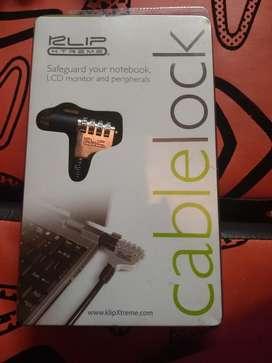 Guayas Cable de seguridad para portatil