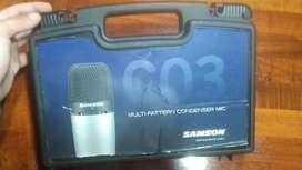 Micrófono condensador  samson C03