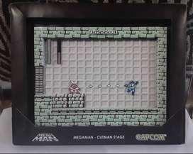 Diorama Mega Man NES