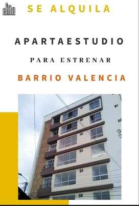 ALQUILO APARTA ESTUDIO B/ VALENCIA