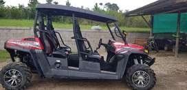 Vendo utv 4 plazas hisun 1000 cc nuevo recibo menor