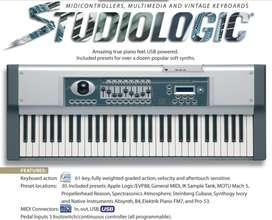 Teclado Studiologic Vmk161 Plus Midi Piano Con Anvil.