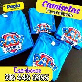 Estampados y bordados personalizados, camisetas estampadas, personalizadas, estampados, cumpleaños, entierros