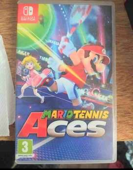 Juego switch Mario tennis Aces