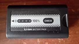 Batería Panasonic Original Ag-vbr59