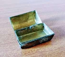 Baul en Bronce  - Decoración - Adorno - Antiguo - Antiguedad
