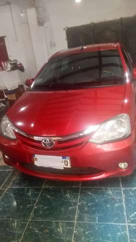 Vendo Etios xls 2016 4p sedan
